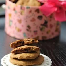 巧克力葡萄干饼干的做法