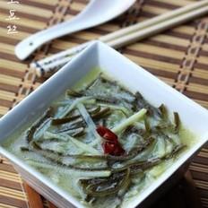 海带土豆丝汤