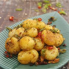 孜然椒盐小土豆的做法
