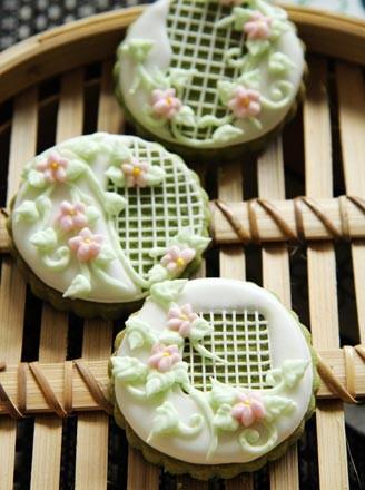 手绘蕾丝饼干 和 像素田园风手绘糖霜饼干)  3.