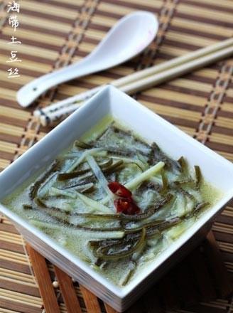 海带土豆丝汤的做法