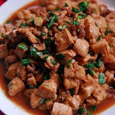 蒜香肉末烧豆腐的做法