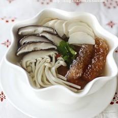 海茸芯杂菇养生汤的做法