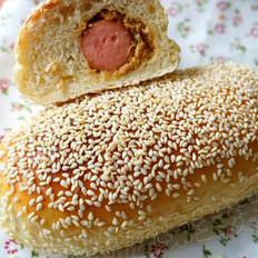 肉松香肠包的做法