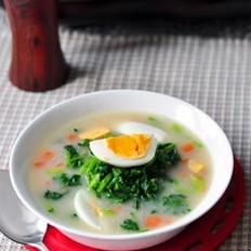魔蛋汤的做法