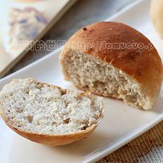 核桃香草面包的做法