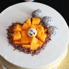 芒果凍芝士蛋糕的做法