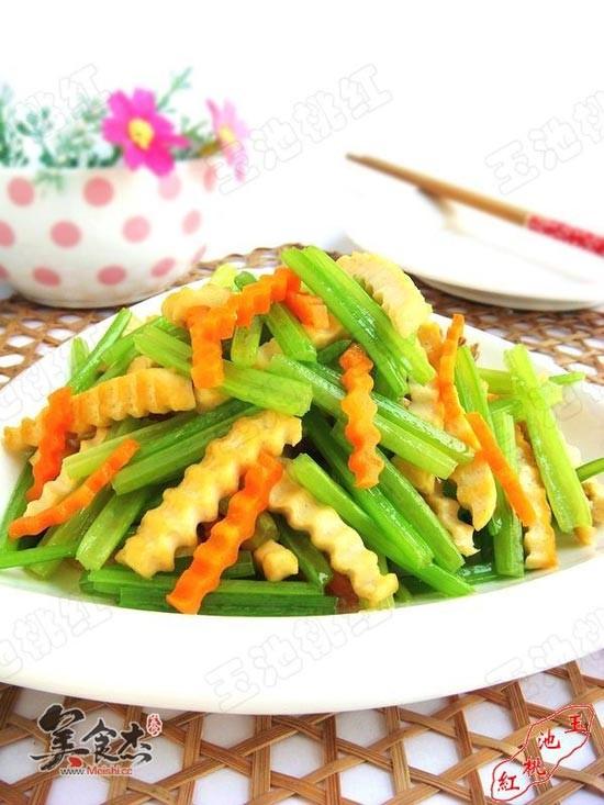 芹菜炒做法的香干_做法香干炒芹菜的视频【图CMF家常图片