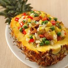 什锦菠萝饭的做法