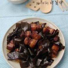 海带结炖肉的做法