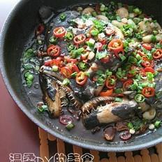 香煎深海鱼头的做法