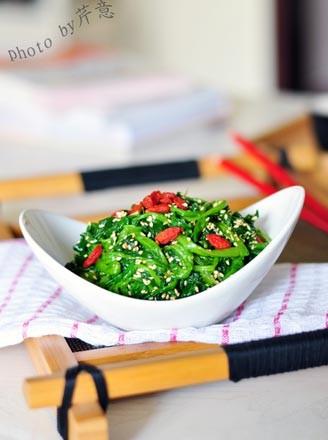 高考神菜芝麻菠菜:物美价廉营养丰富的益智健脑小凉菜 - 浓情美食客 - 浓情美食客