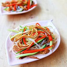 黄花菜拌粉丝