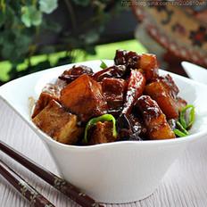 千页豆腐红烧肉的做法