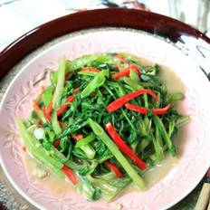 椒丝腐乳通菜