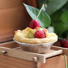 水果酥皮芝士塔的做法
