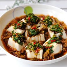 果仁蒸拌豆腐