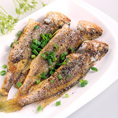 香煎小黃魚的做法