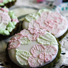 刷绣饼干的做法