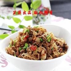 剁椒肉末粉-果博东方-果博东方条的做法