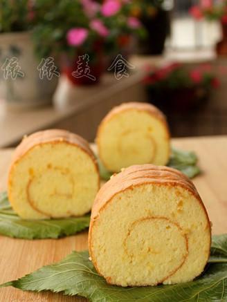 菠萝戚风蛋糕卷的做法