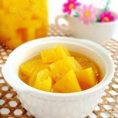 自制菠萝罐头的做法