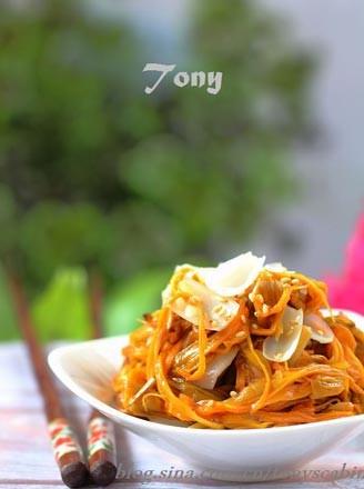 凉拌百合黄花菜的做法