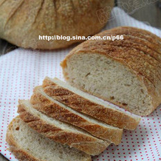 法式全麦面包的做法