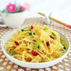 酸菜炒土豆丝的做法