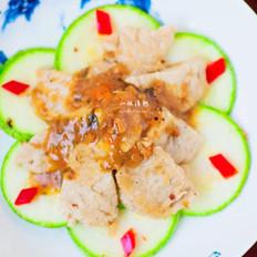 西葫芦素肉片