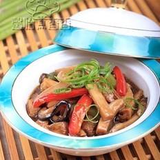 蚝油豆腐煲的做法