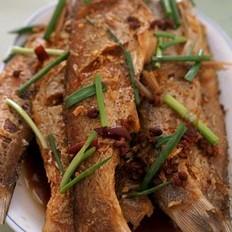 香辣刁子鱼的做法