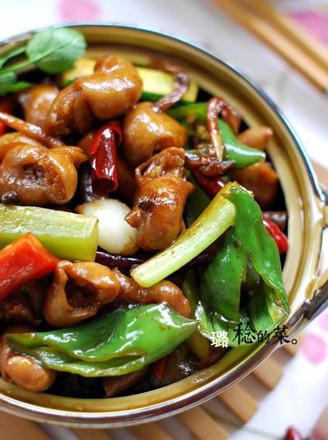 干锅肥肠的做法