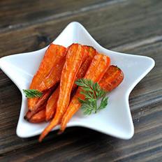 烤胡萝卜的做法