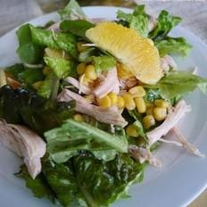 鸡胸肉玉米沙拉的做法