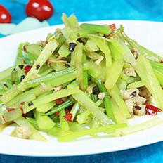 干煸芹菜的做法