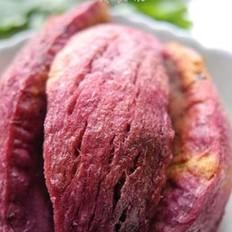 微波紫薯干的做法
