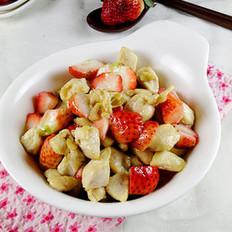 草莓鸡丁的做法
