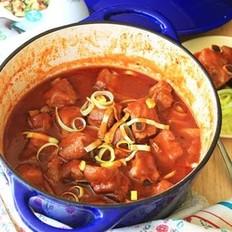 茄汁排骨的做法