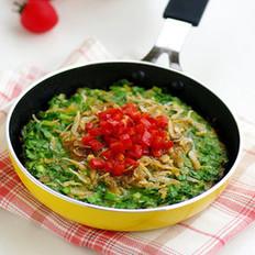蝦皮韭菜黃豆餅的做法