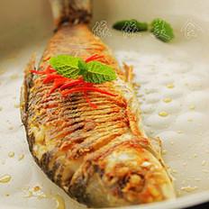 香煎鲮鱼的做法
