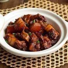 梅菜芋香红烧肉的做法