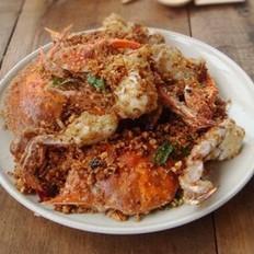 避風塘炒蟹的做法