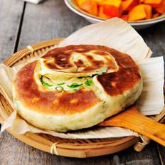 椒鹽蔥油餅的做法