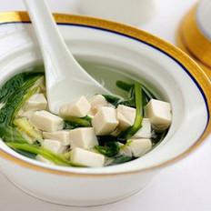 芥菜肉末豆腐汤的做法