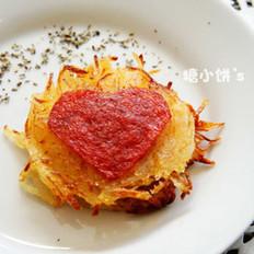 芝心土豆絲餅的做法