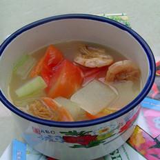 冬瓜西紅柿湯的做法