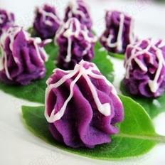 紫薯泥沙拉的做法