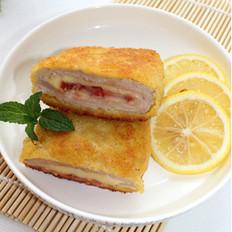 柠香奶酪夹心猪排的做法