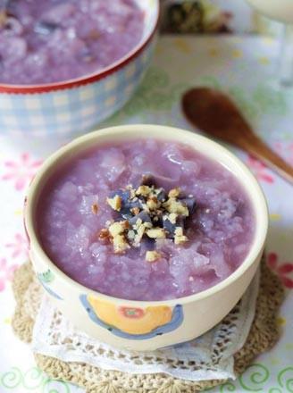 紫薯银耳粥的做法